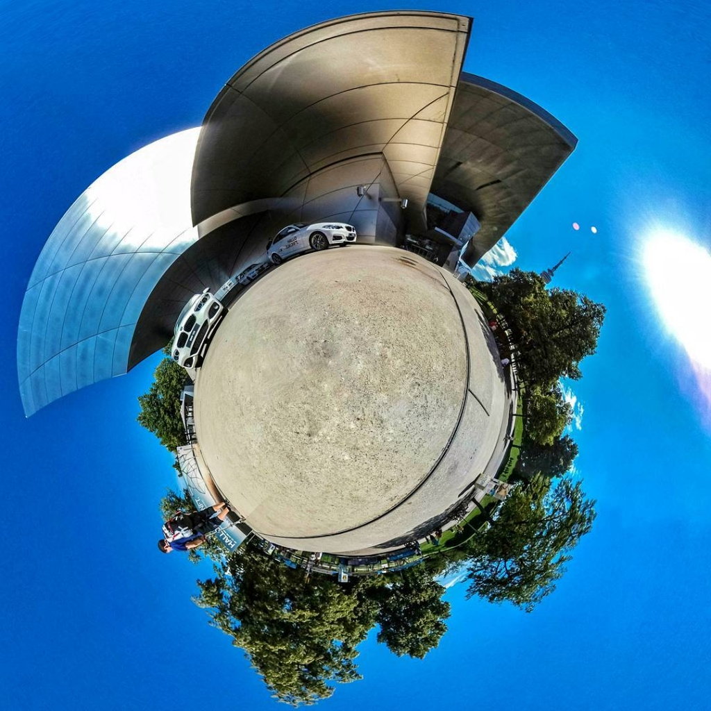 360° Panorama Photo Shooting in der BMW Welt | BMW Museum