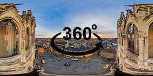 Download: 360° Panorama (Munich at Sunset)