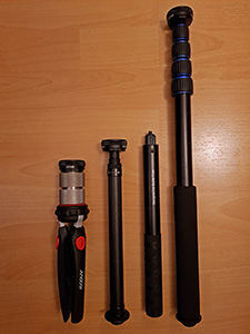 XPhase Monopod Comparison